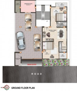 Ground floor plan | nakshi homes Ltd.
