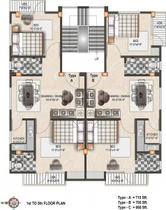 floor plan nakshi Homes Ltd | real estate developer