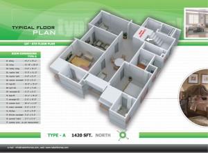 floor-plan3 | Nakshi homes ltd.