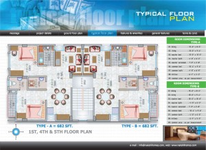 floor-ploan2 | Nakshi Homes Ltd.