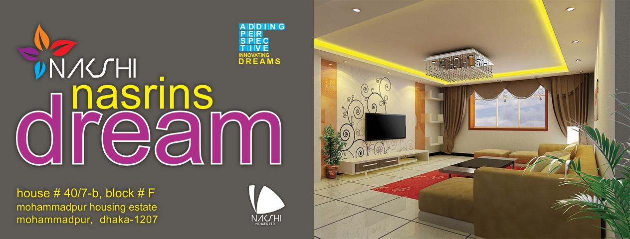 Nakshi Nasrin's Dreams | Nakshi Homes Ltd.