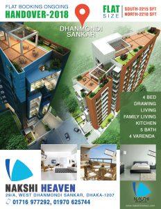 Flat for sale in Dhanmondi
