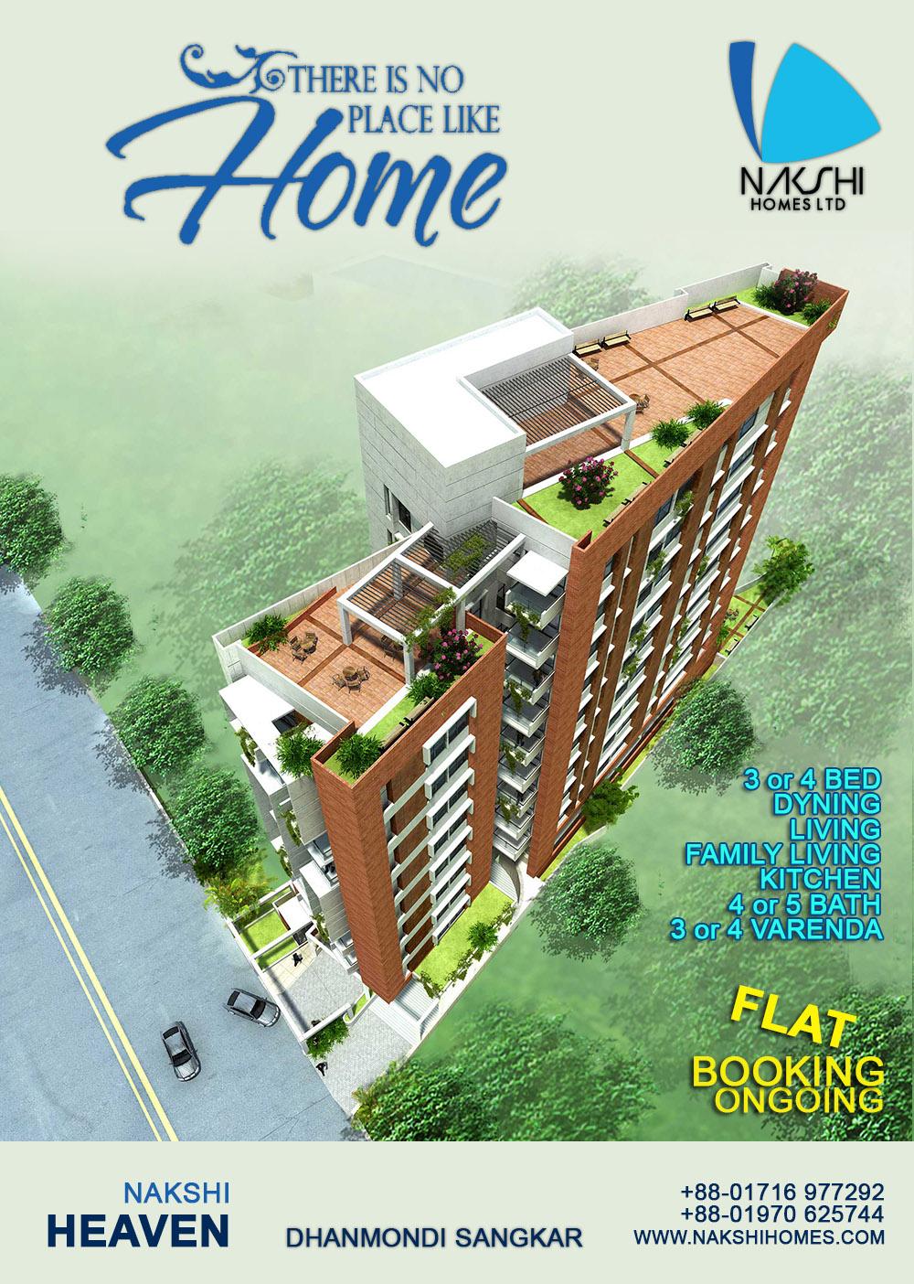 Flat for sale at Dhanmondi